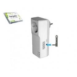 GSM Micro - Tænd for varmen via SMS - Samlet pakke - Med indbygget temperaturføler og backupbatteri