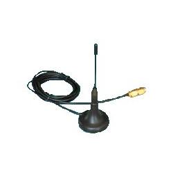 Ekstern antenne med 2 m. kabel. - Tilbehør til SMS-styring + SMS-styring El-tavle