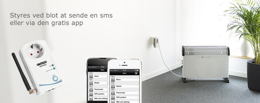 Download en app til enten Iphone eller Android